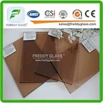 4mm-8mm Bronze Tempered Glass Safety Glass Toughened Glass