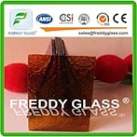 6mm bronze Woven Patterned Glass Furniture Glass