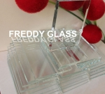 3mm-19mm Ultra Clear Float Glass/Low Iron Glass with High Transmission