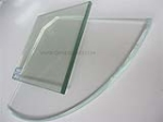 5-12mm Tempered Shower Glass Shelf for Bathroom-AS:NZS 2208: 1996,CE, ISO