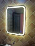 LED MIRROR SILVER MIRROR BATHROOM MIRROR VANITY MIRROR