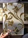 ice pattern glass, ice acid glass, golden flower glass,