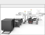 Automatic solar glass production line