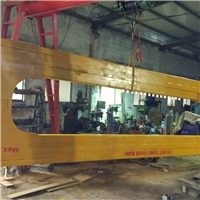 U Shape Unloading Crane For 40 Feet Containers , C Shape Loading Unloading Crane