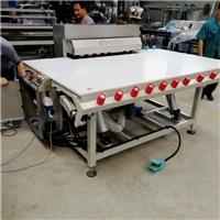 Single Side Heated Roller Press Table With Air Float & Tilting,Double Glazing Equipment