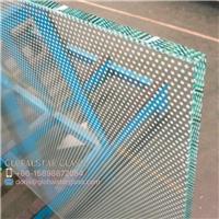 20mm, 30mm anti slip glass floor