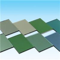 3-12mm High Quality Tinted  Reflective Float Glass