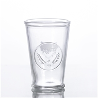 vintage juice glass tumbler cup