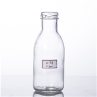 250ml salad dressing glass bottle