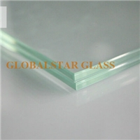 Laminated glass with mirror
