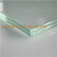 Laminated glass clear PVB, colored PVB