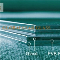 Laminated glass with 1.52MM PVB