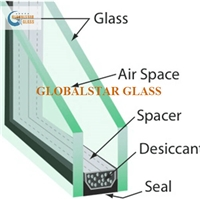 Insulated glass for window and door