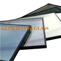 Insulated glass with low e glass
