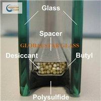 6+12a+6mm Insulated glass