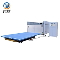 CE standard automatic most welocme lifting table laminating glass machine