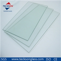 6mm Low- Iron Float Glass with CE&ISO9001