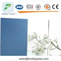 0.55-2.7mm Sheet clear aluminum Mirror blue back