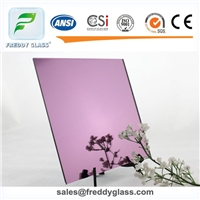1.5mm-6mm Lilac Silver Mirror (double coated)