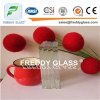 10mm Ultra Clear Float Glass/Low Iron Glass with High Transmission
