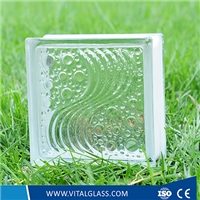 Decorative Tinted Glass Block Manufacture For Wall