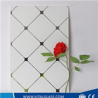 Painted / Stained Decorative Glass mirror