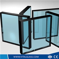 Low E Double Glazing Glass for Building Door
