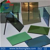 4mm Euro Bronze/ Green Reflective Glass for Decorative Glass