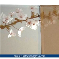 4-10mm Euro Bronze Reflective Glass for Building