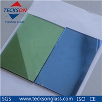 4-6mm Light Green Reflective Glass