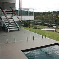 laminated glass for swimming pool , balustrade