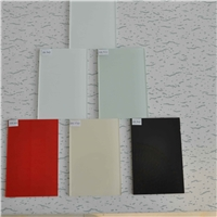 Lacquered glass/Painted glass  for decoration