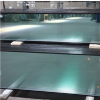 Low-e double glazing glass