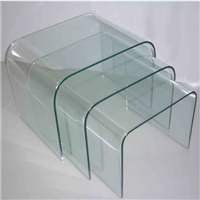 Hot bent glass