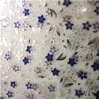 ice acid decorative glass