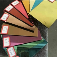 Color coated glass and mirror/ Reflective glass
