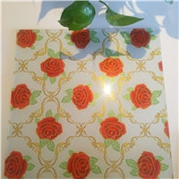 Digital Printing Glass/ Frosted glass with patterns/ Inner decoration glass