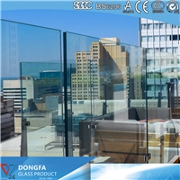 Edge zero mismatched Sentryglas laminated glass