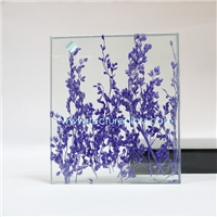 Tecture organic laminated glass resin plant glass