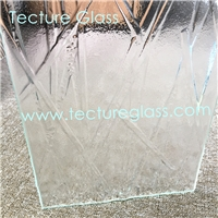 Tecture artistic cast glass fused glass kiln glass for hotels decorations