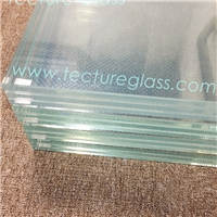 Tecture anti slip tempered glass/acid etched glass