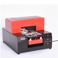 Mecan Uv flatbed A3 printer for printing Glass with xp600 prinhead