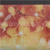 Digital Printing Toughened/Tempered Glass for Partition Glass and Wall Glass-AS/NZS 2208:1996, CE, ISO 9002