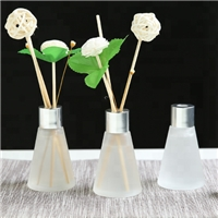 wholesale 30ml aroma decorative glass reed diffuser bottle sticks holder diffuser for home decor