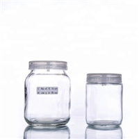 240ml tissue culture plant glass bottle for lab use