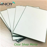 Environment Friendly Copper Free Lead Free Silver Mirror Glass