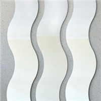 SINOY decorative wave shaped mirror (s-shaped mirror) for interior applications