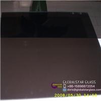 3-8mm Dark Grey reflective glass for door and window