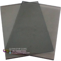 3-8mm Euro Grey/Light Grey reflective glass for door and window