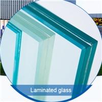 Large size pvb interplayer laiminated glass (EN12150 SMK40107)